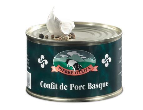 Confit de Porc Basque BM 800g