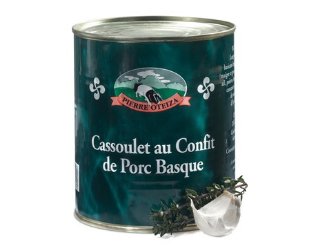 Basque pork confit Cassoulet 420g (tin)