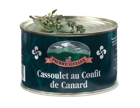 Cassoulet au confit de canard 840 g