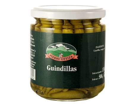 Guindillas - petits piments verts doux