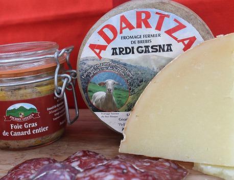 Fromage de brebis fermier de montagne au lait cru Adartza