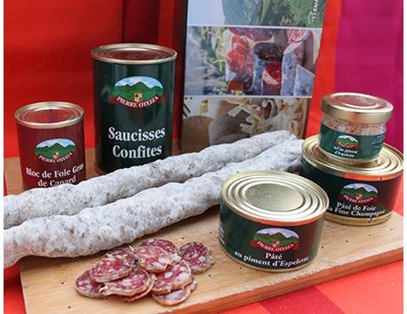 Confit sausages 400g (tin)
