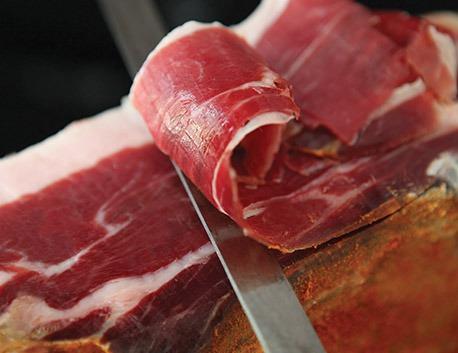 Tranches de Jambon du Kintoa AOP (issu du porc de race basque)