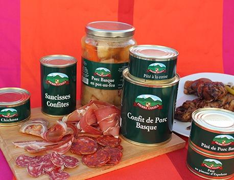 Pied de porc basque à la moutarde à l'ancienne sous-vide