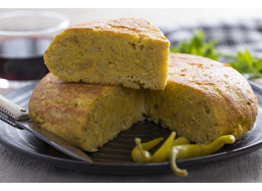 Tortilla aux chichons et guindillas