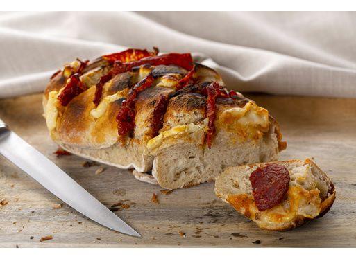 Pain hérisson au chorizo et fromage de brebis Ossau-Irraty