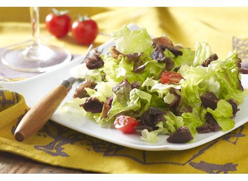 Recette de salade de gésiers