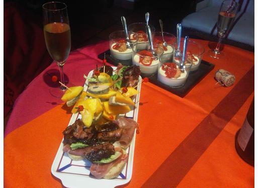 Recette de brochettes de foie gras