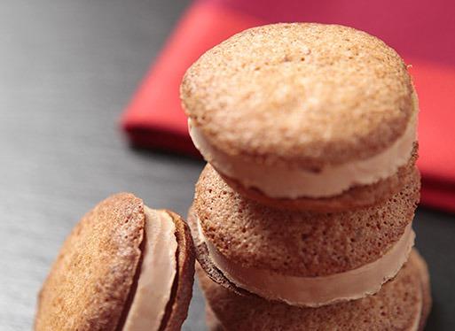 Recette de Macarons au foie gras